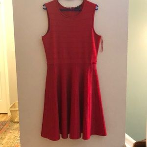 Pink Tartan winter dress